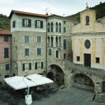 The square in Apricale