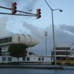 Outside Kensington Oval
