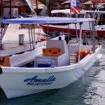 The Amalia, AA's boat