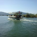 Water taxi from Dalyan centre to Dalyan delta (beach)