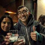 Paula and I at Pisco Sour night :)