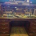 Edison's actual desk