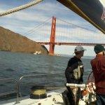 Outside the Golden Gate Bridge