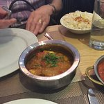 In the blue Elephant Indian restaurant Llandudno. The staff are very polite and the meals were e