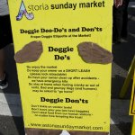 On Sundays don't miss the market, which extends down near the riverwalk. Dog-friendly rules here
