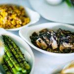 Sides - Sautéed Mushrooms, Grilled Asparagus, Roasted Corn