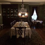 The very nice dining room for breakfast.