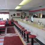 Interior of Mollie's Cafe, Snowville, UT