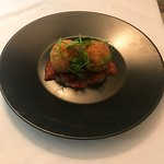 Beautiful arancini filled with chorizo and roasted peppers and served with spicy tomato chutney!
