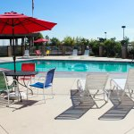 Get that great tan at our Outdoor pool area!