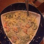 Prosciutto and Pea Tortellini