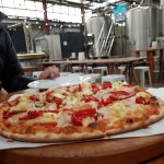 Pizza in the brewery