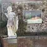 Hadrian's Wall in car park