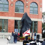 Unveiling of the statue