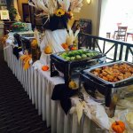Fall Themed Buffet for Corporate Luncheon!