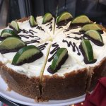 Fresh lime pie