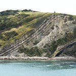Lulworth Cove - rock formations