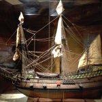 Scale model of Mayflower...