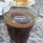 Kunafa and Baklava with Turkish coffee
