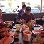 """Pre-event organizer """"test"""" meal - amazing!"""