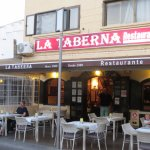 """La Taberna"" from the street"