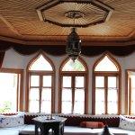 Sitting room at Muslibegovic House in Mostar, Bosnia-Herzegovina