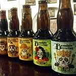 Bandido Brewing makes delicious craft beer, you can even grab a bottle to go!
