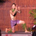 Dancer with cool tattoos and great smile