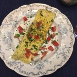 Fresh omelet - Breakfast