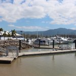 The club is situated beside the marina