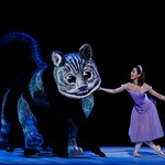 Ako Kondo in Alice's Adventures in Wonderland©. Photography Jeff Busby.