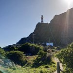 The Lighthouse at Cape Palliser, an amazing view. Windy, chilly and ocean roaring on the other s