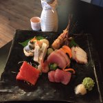 "This was the small ""chef's choice sashimi platter"" AWESOME!!!"
