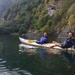 Kayaking the fjord
