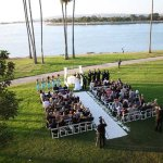 Ceremony Site on the Sunset Lawn