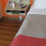 different shot of sunken bed