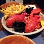 The Lobsters and Fries.. Memorable Dinner