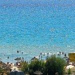 vue de la plage hammamet