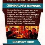 Haunted Pub Tour flier