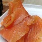 Fresh Smoked Salmon side