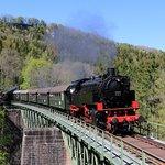 Die Sauschwänzlebahn auf der Wutachbrücke
