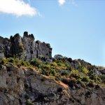 Les ruines du Château de Tautavel, vues de El Silex