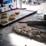 Fresh scones made daily throughout the summer in our Bakery on the Beach