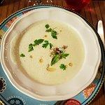 Asparagus soup..divine!