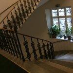 Rezeption und Stiegenhaus