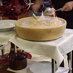 Tallarines flambeados a los cuatro quesos... un diez!