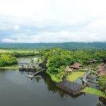 Aerial View of Inle Resort & Spa
