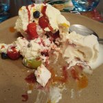 Eton mess. Delicious, too much to finish.
