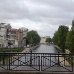 Saint Martin canal at the end of Rue Eugene Varlin, not far from Le Robinet d'Or