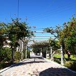 The villa enterance